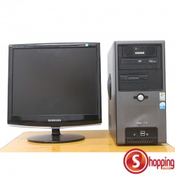 Mecer PC Duo Core + Samsung Monitor