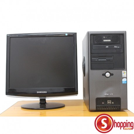 Mecer PC + Samsung Monitor